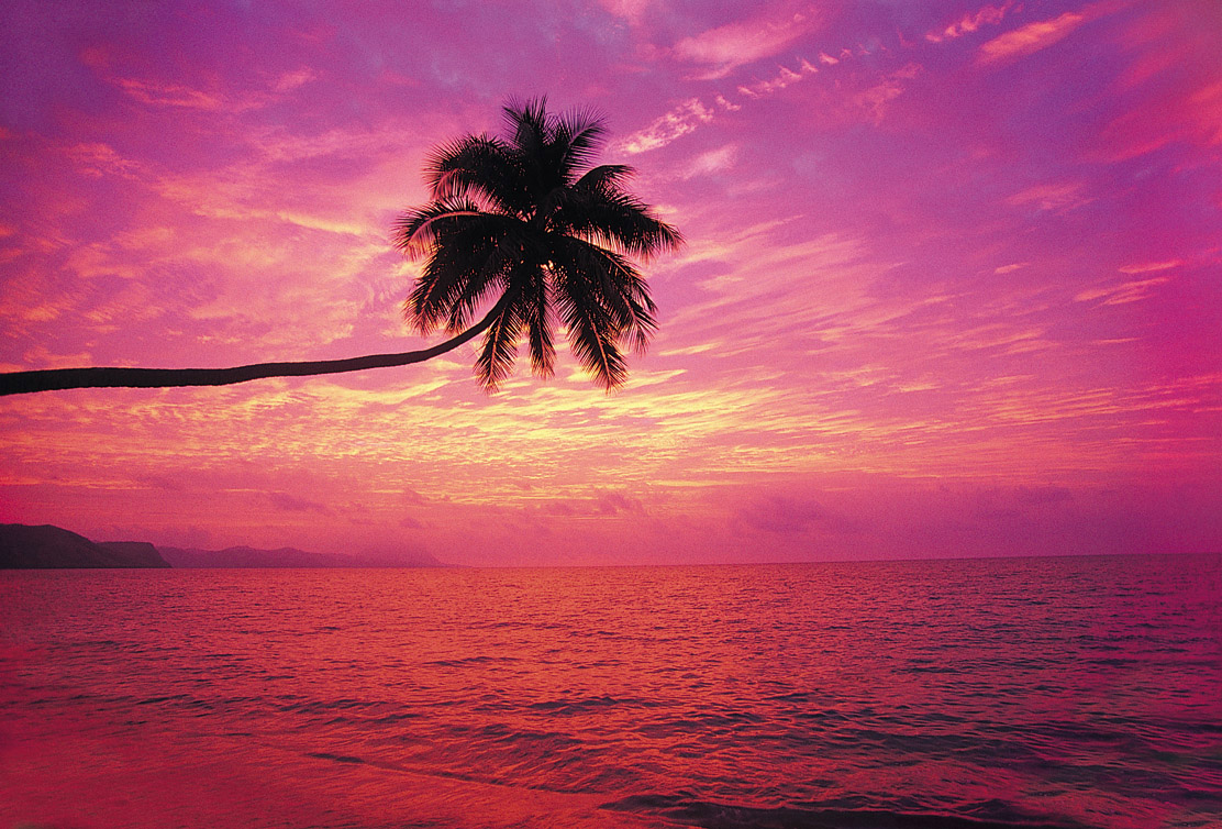 Fiji at Sunset
