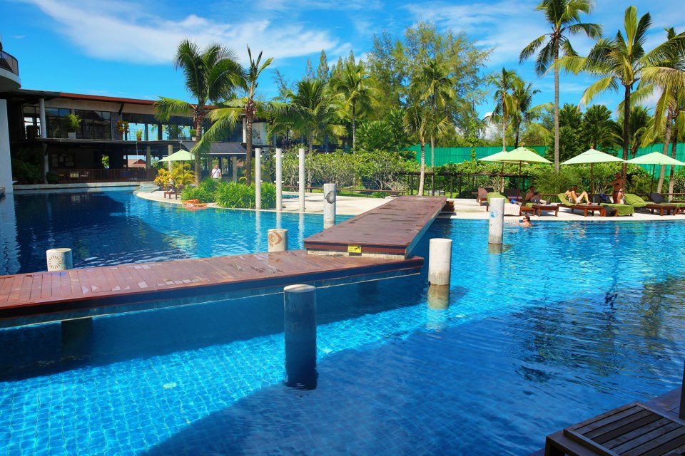 Poolside at Our Krabi Hotel