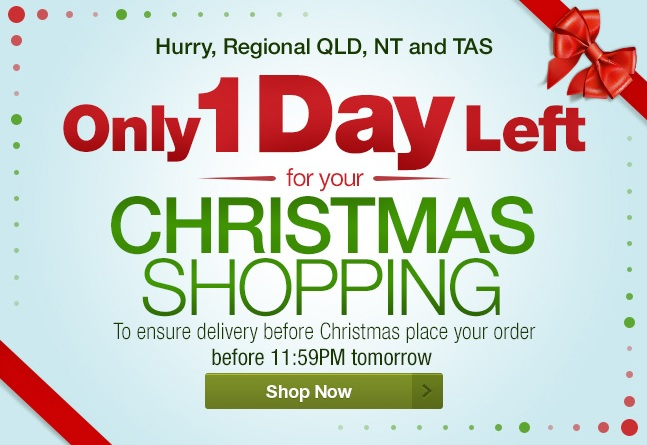 Christmas Shopping Email