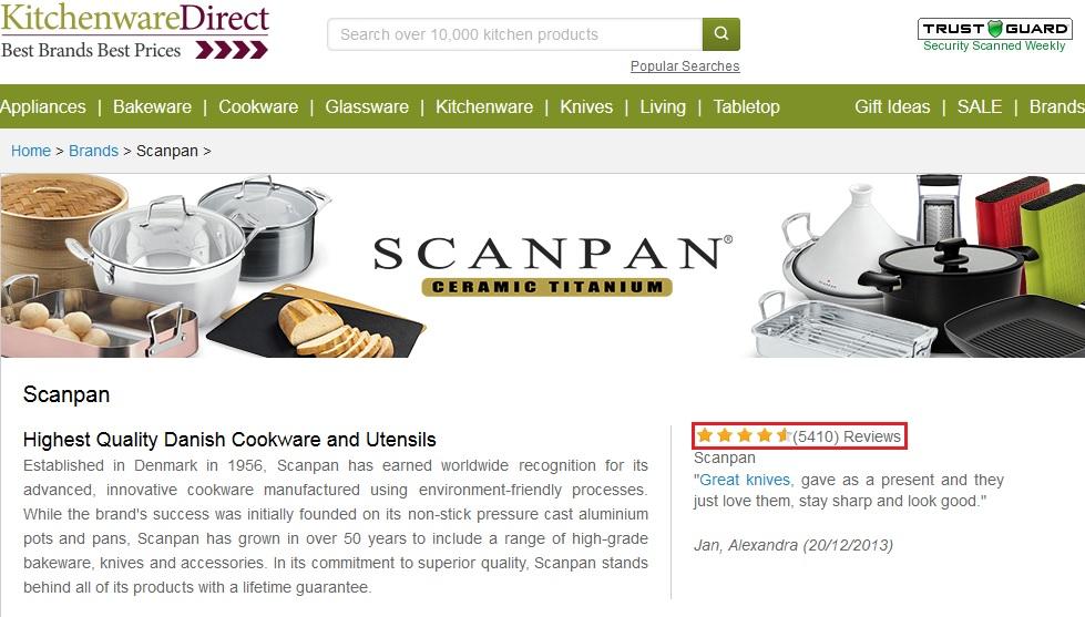 Scanpan Reviews