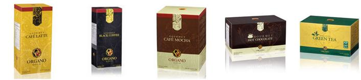 Organo Gold Range of Products