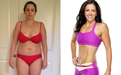 Natalie Before and After Using Isagenix