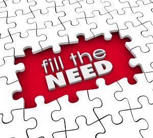 Fill Customer Needs