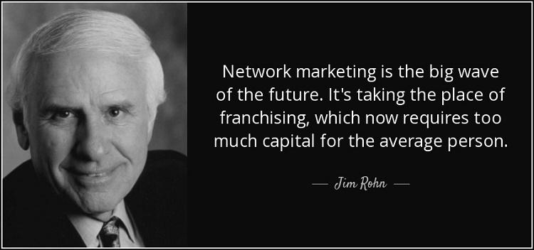 Jim Rohn on Network Marketing