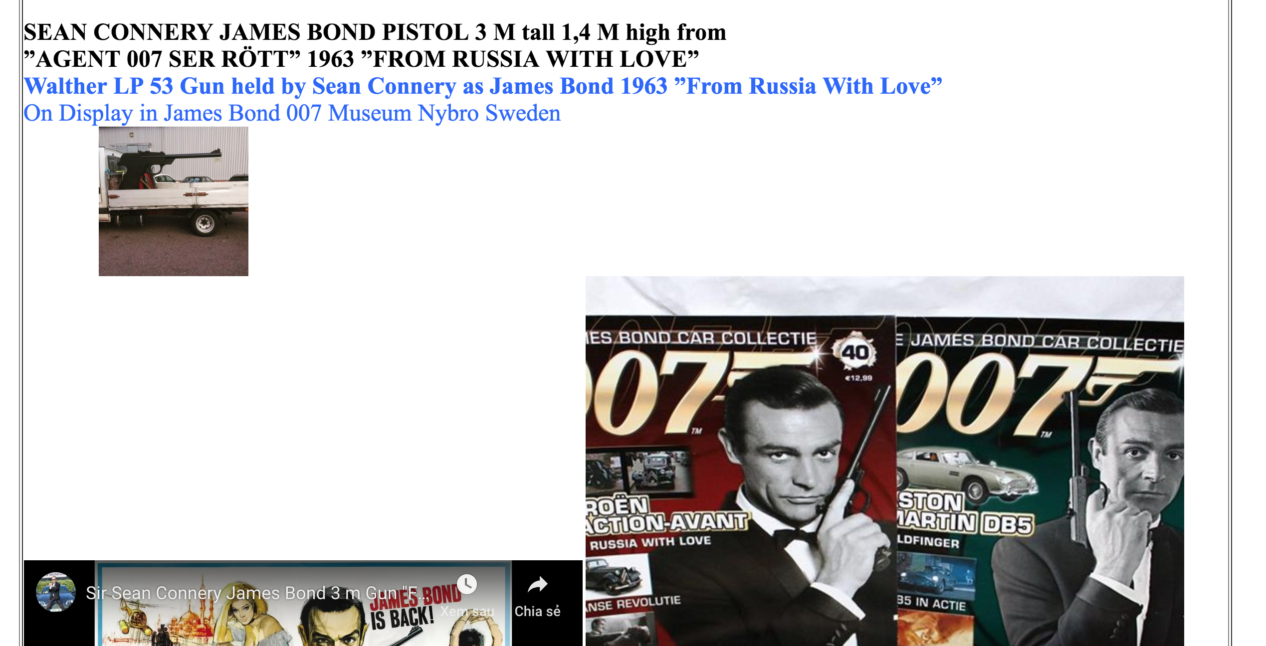 007 Museum's poor website design