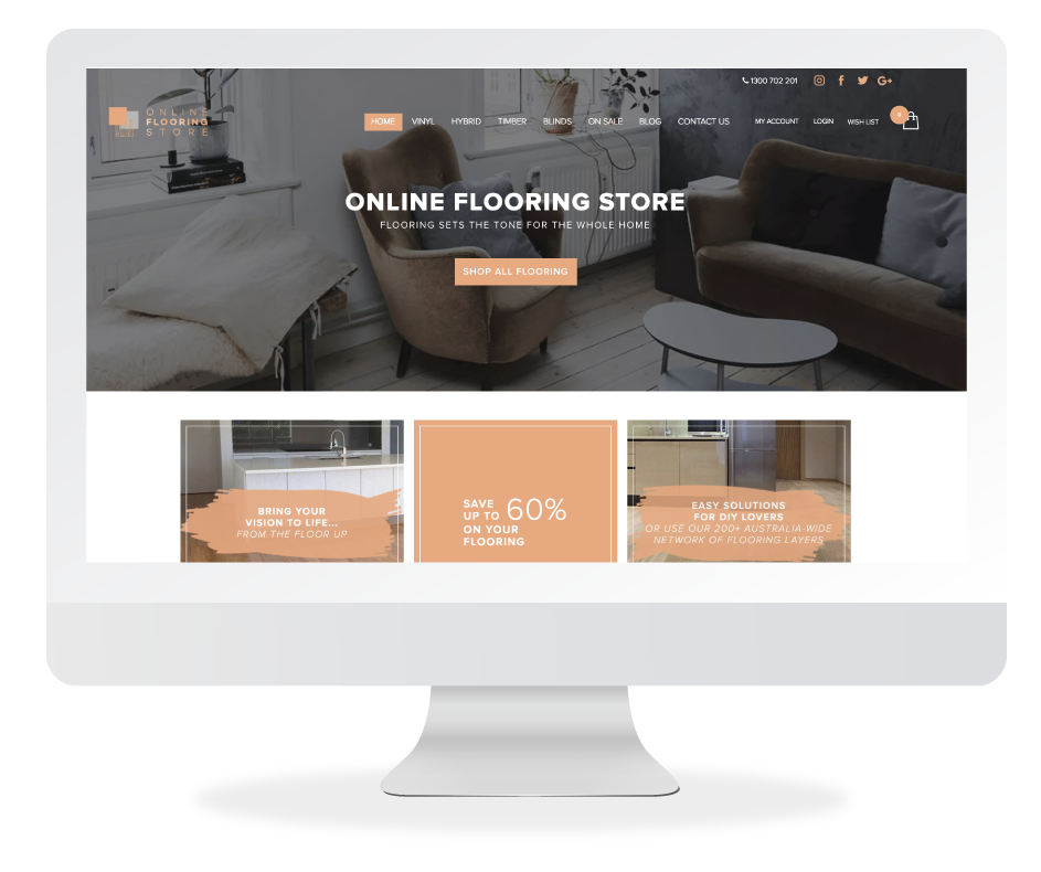 Online Flooring Store Website