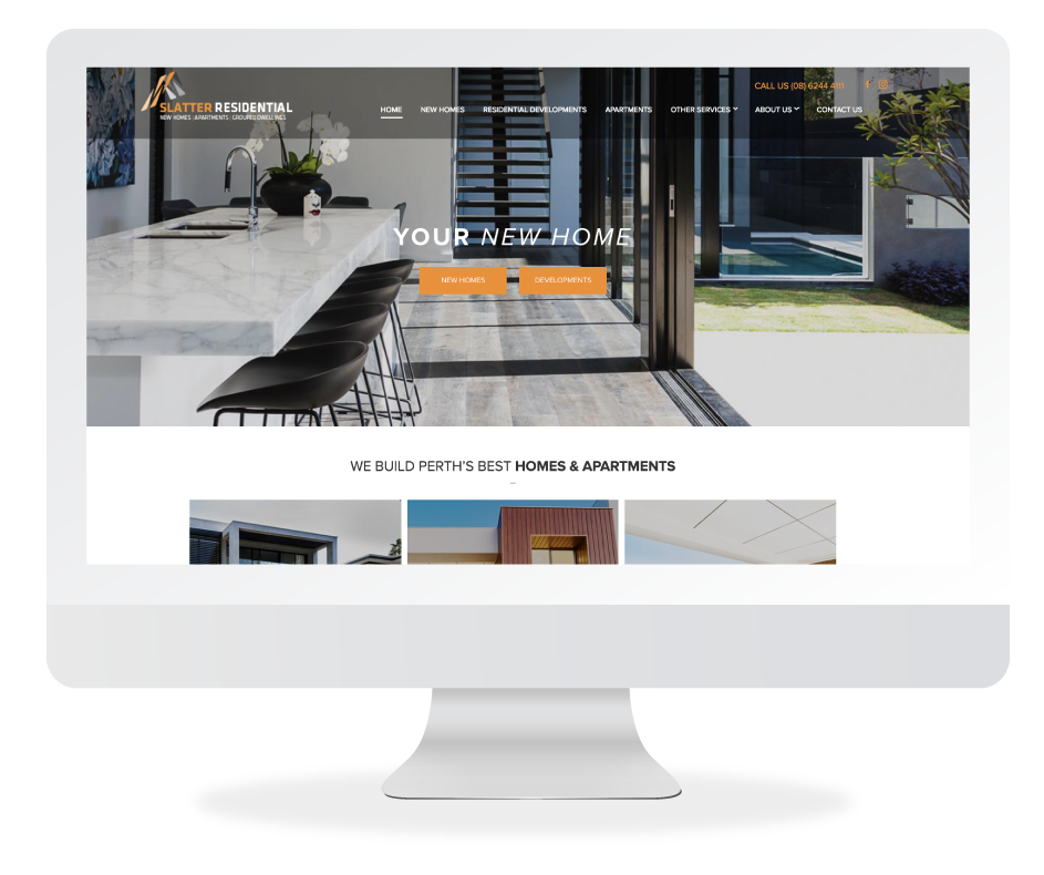 Slatter Residential's New Website