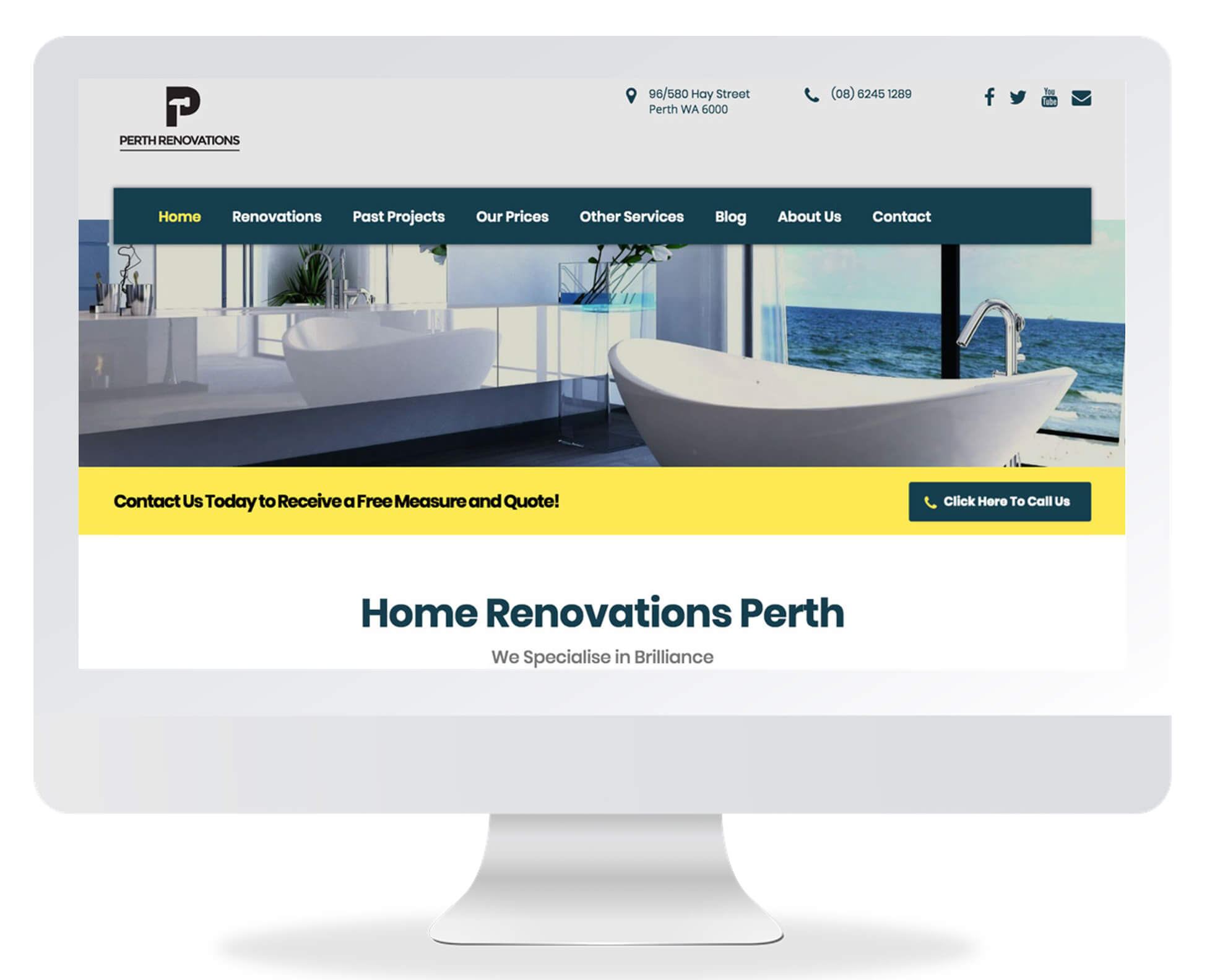 Perth Renovations Co Brad Russell Seo Case Study