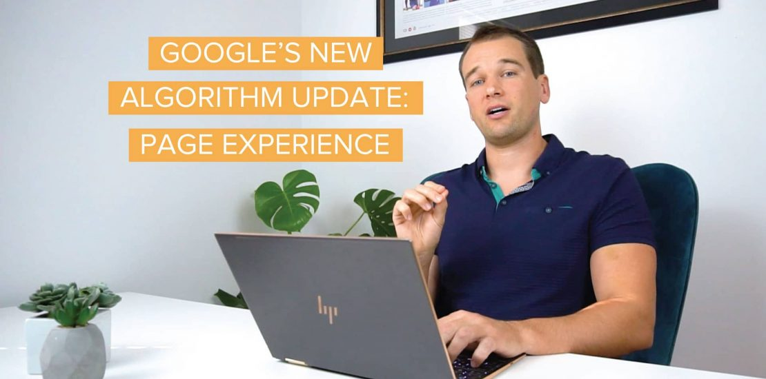 Google's New Page Experience Algorithm Update